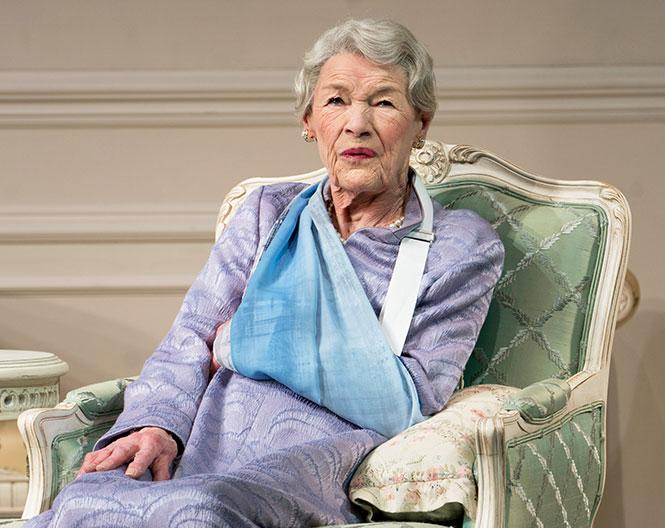 "Glenda Jackson, in her Tony-nominated role in Edward Albee's ""Three Tall Women"" on Broadway. Photo: Courtesy the subject"