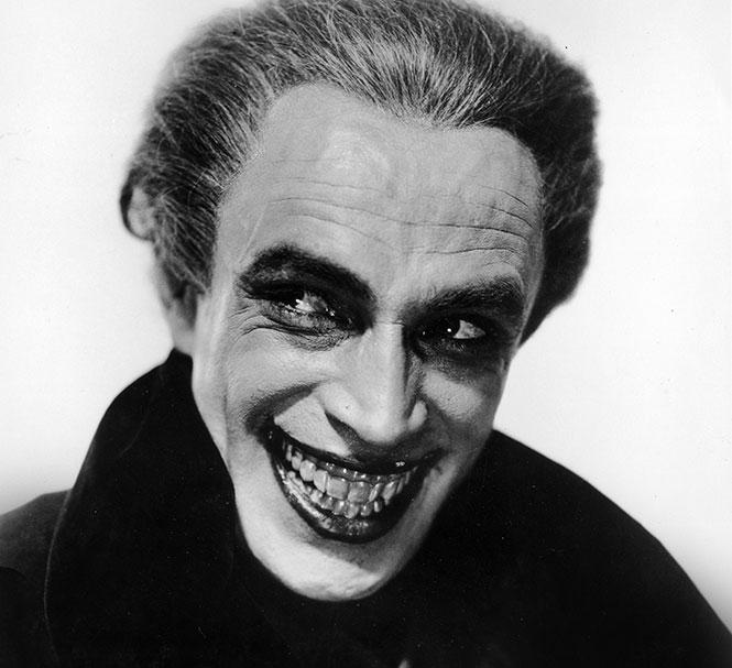 "Conrad Veidt in ""The Man Who Laughs"" (1928). Photo: Courtesy SF Silent Film Festival"