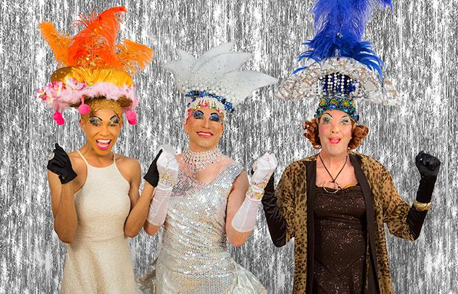 """Costumes are a big part of the attraction of """"Priscilla, Queen of the Desert,"""" from Theatre Rhino. Photo: Courtesy Rhino"""
