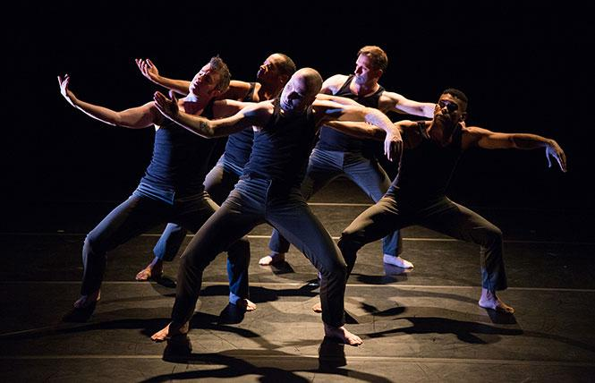 Sean Dorsey Dance, part of the 2018 Fresh Meat Festival. Photo: Lydia Daniller
