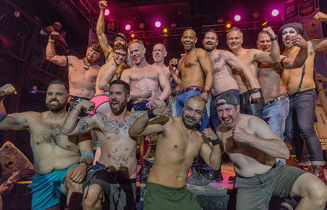These are the hot men who were chosen to be included in the 2019 Bare Chest Calendar. photo: Rich Stadtmiller