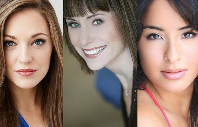Laura Osnes, Susan Egan, and Courtney Reed perform in the Broadway Princess Party at Feinstein's at the Nikko.