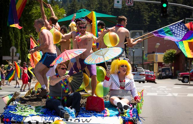 Sonoma County Pride returns to Santa Rosa with this weekend's parade and festival. Photo: Courtesy Sonoma County Pride