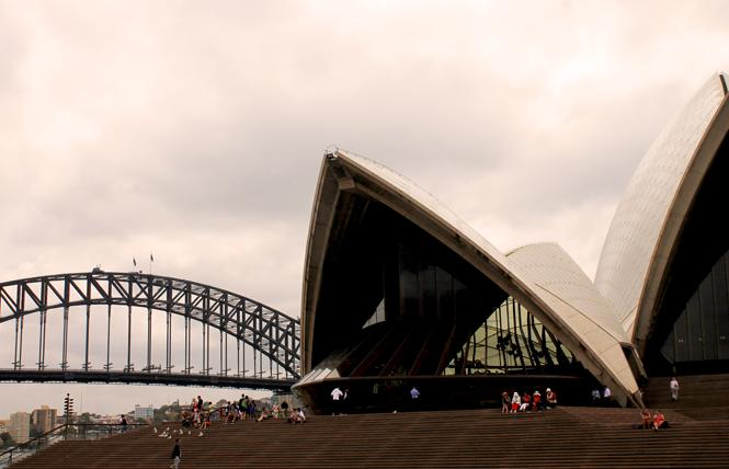 The iconic Sydney Opera House, with the Sydney Harbor Bridge in the background, is a must-visit for tourists. Photo: Heather Cassell