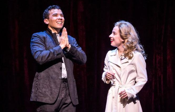 "Conrad Ricamora and Alyse Alan Louis in the world premiere of David Henry Hwang and Jeanine Tesori's ""Soft Power,"" coming to the Curran. Photo: Craig Schwartz Photography"