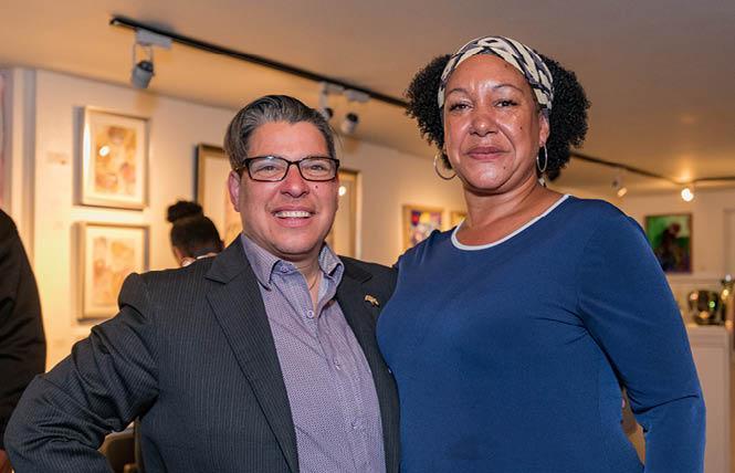 Oakland City Councilwoman Rebecca Kaplan, left, endorsed prominent activist Cat Brooks for mayor this year. Photo: Jane Philomen Cleland