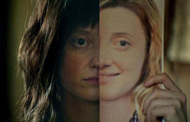 "Andrea Riseborough as the title character in director Christina Choe's ""Nancy."" Photo: Courtesy of Samuel Goldwyn Films"