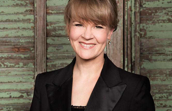 Finnish conductor Susanna Malkki returned to DSH. Photo: Simon Fowler, courtesy SFS