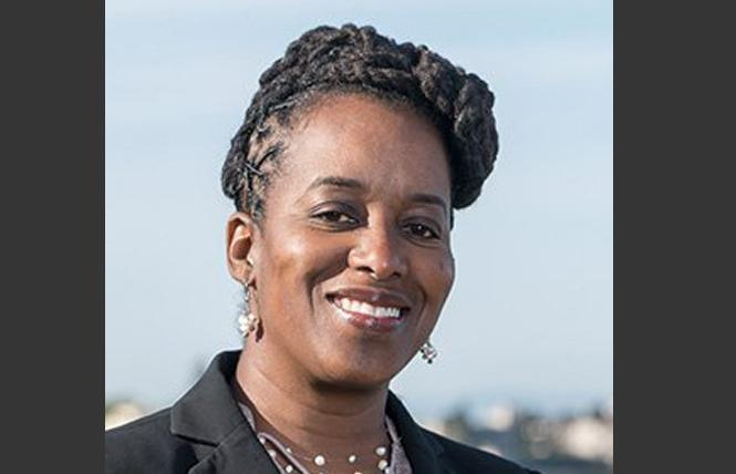 Jovanka Beckles is back to being the third place finisher in the 15th Assembly District race.