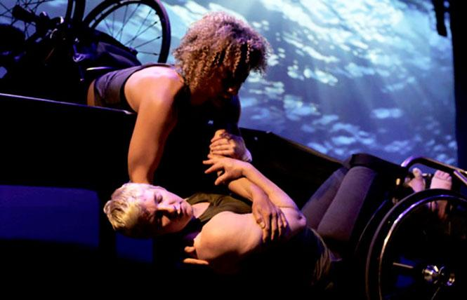 Alice Shepard and Laurel Lawson at Fresh Meat Dance Festival @ Z Space Thu 14 photo: Rain Embuscado