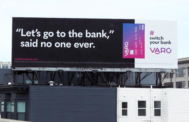 Varo Money Inc. is a gay-owned bank based in San Francisco. Photo: Courtesy Varo Bank