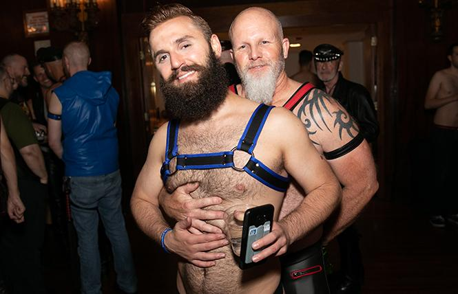 A cute couple at the 2018 IML weekend in Chicago.