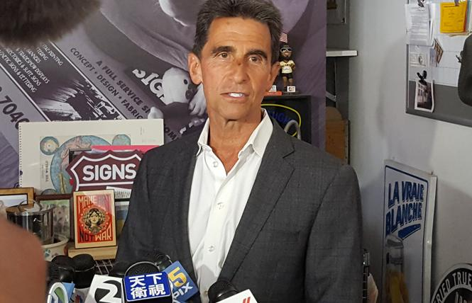 Mark Leno conceded the mayor's race Wednesday. Photo: Cynthia Laird