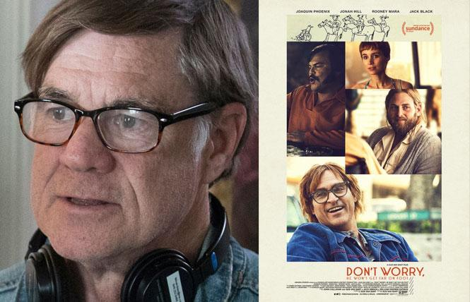 """Don't Worry, He Won't Get Far on Foot"" director Gus Van Sant. Photo: Courtesy SFFILM"