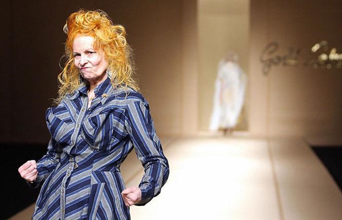 """Vivienne Westwood in director Adam Curtis' """"Westwood."""" Photo: Courtesy filmmaker"""