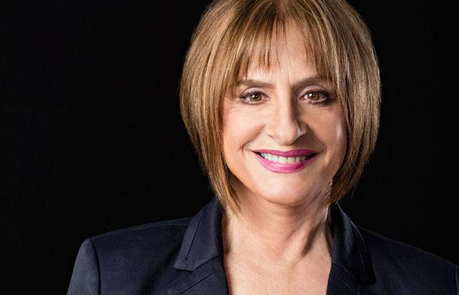 Patti LuPone was outspoken at the Curran Theatre. Photo: Courtesy the subject