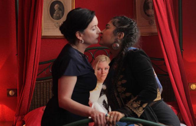 "Scene from director Daviel Shy's ""Ladies Almanack."" Photo: Courtesy Roxie"