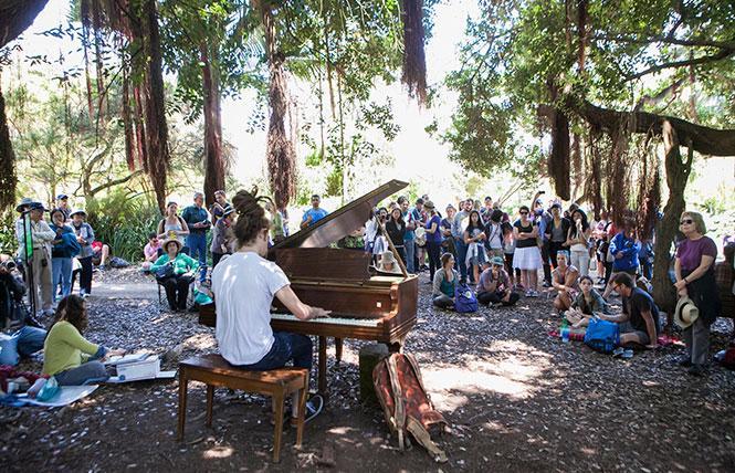 Flower Piano @ SF Botanical Garden Thu 5