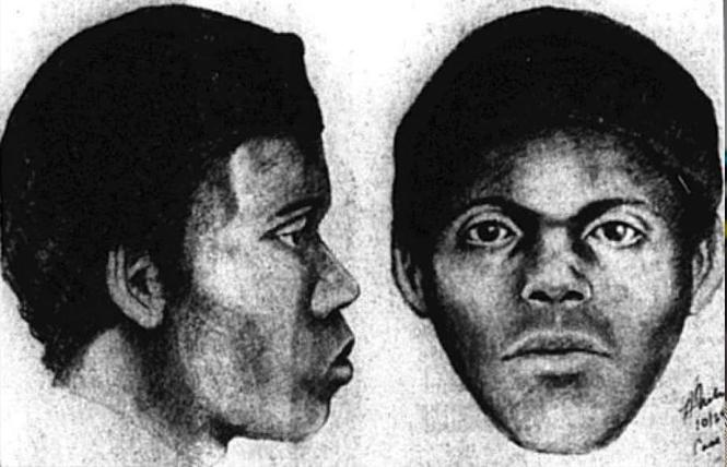 "An old sketch of the ""Doodler"" serial killer. Photo: Courtesy SFPD"