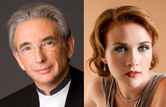 LEFT: San Francisco Symphony Music Director Michael Tilson Thomas. Photo: SFS  RIGHT: Mezzo-soprano Sasha Cooke. Photo: Dario Acosta
