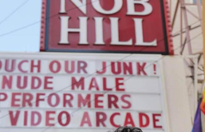 The Nob Hill Theatre will close next month. Photo: Sari Staver
