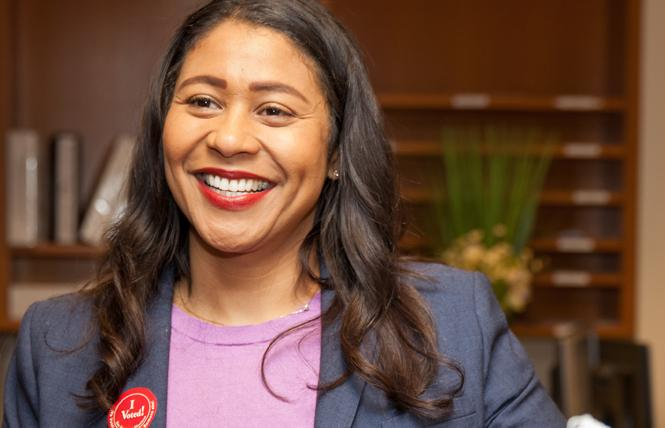 Mayor-elect London Breed. Photo: Kelly Sullivan