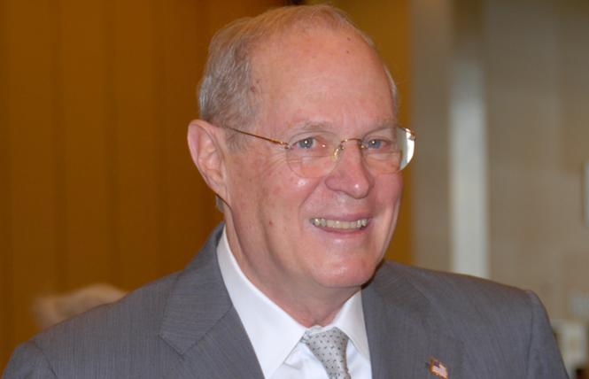 Justice Anthony Kennedy. Photo: Bill Wilson