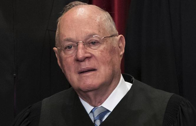 Supreme Court Justice Anthony Kennedy. Photo: Courtesy AP