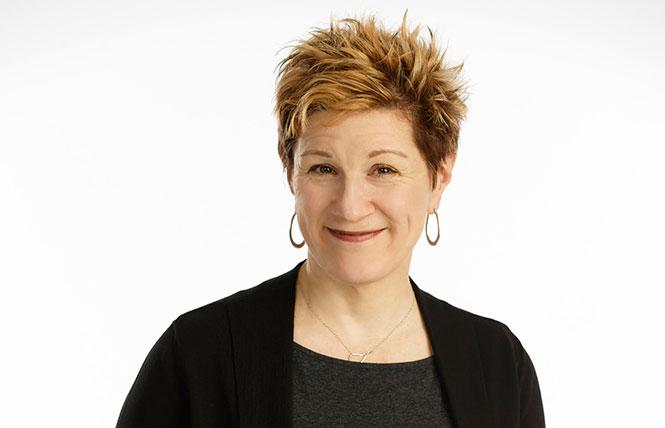 "Lisa Kron, one of The Five Lesbian Brothers: ""When we started, we were utterly invisible."" Photo: Joan Marcus"