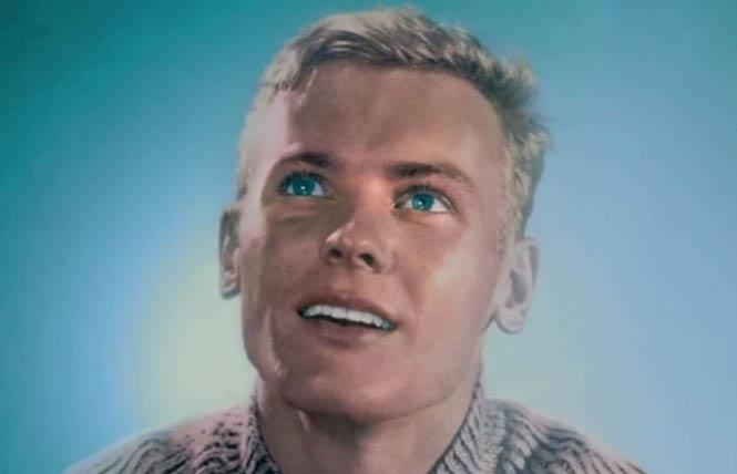 Tab Hunter in studio days.