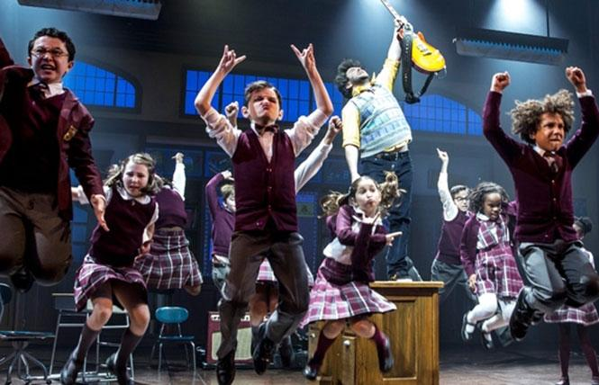 The School of Rock kids (Broadway production). photo: Matthew Murphy