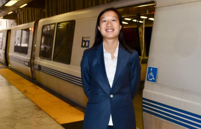 BART board candidate Janice Li. Photo: Steven Underhill