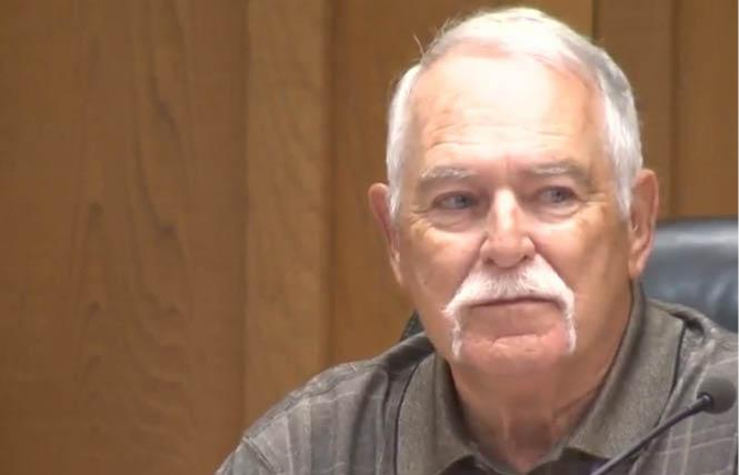Dixon Vice Mayor Ted Hickman. Photo: Courtesy KCRA-TV