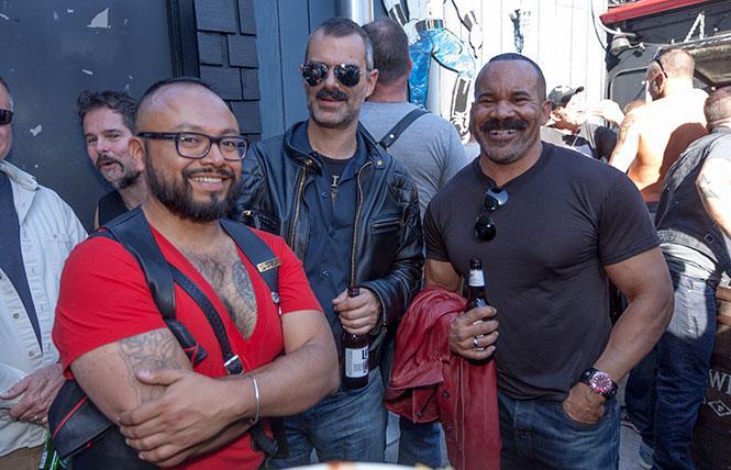 Pre-Folsom Street Fair SF Eagle Beer Bust @ SF Eagle Sun 12 photo: Rich Stadtmiller