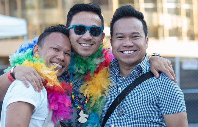 Handsomeness abounds at Silicon Valley Pride. photo: Roy Leonard
