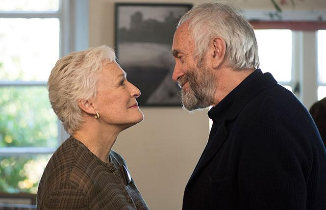 "Glenn Close (Joan) and Jonathan Pryce (Joe) in director Bjorn Runge's ""The Wife."" Photo: Sony Pictures Classics"