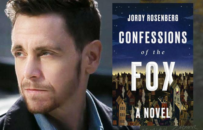 """Confessions of the Fox"" author Jordy Rosenberg. Photo: Atlantic/Random House"