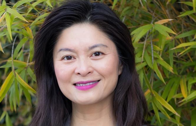 School board candidate Josephine Zhao. Photo: Courtesy Zhao for school board campaign