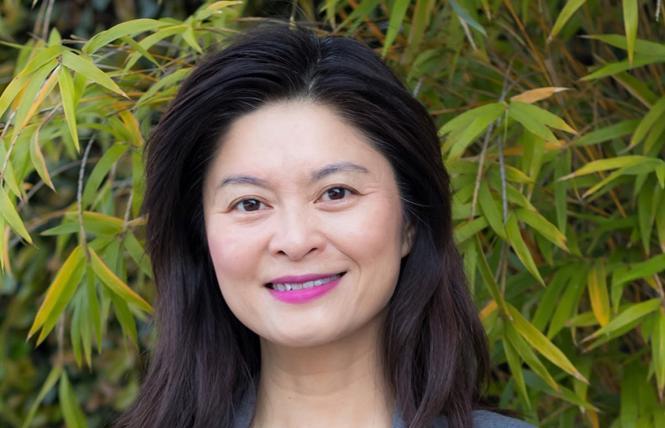 School board candidate Josephine Zhao