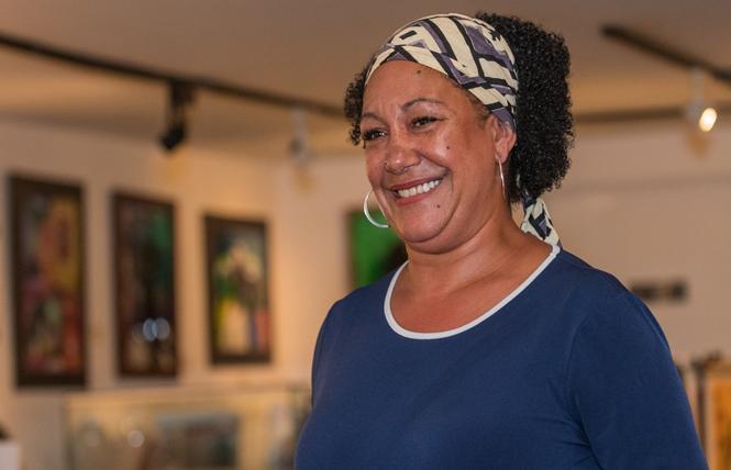 Oakland mayoral candidate Cat Brooks. Photo: Jane Philomen Cleland