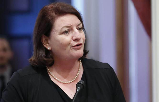 State Senate President Pro Tem Toni Atkins