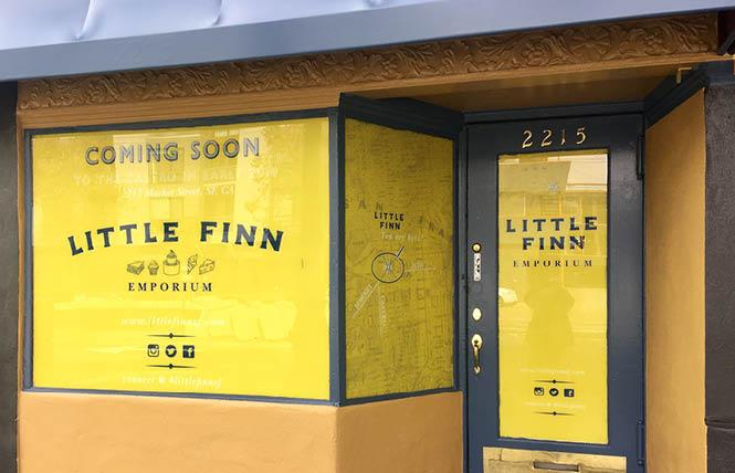The new Little Finn deli is expected to open next spring in the Castro. Photo: Sari Staver