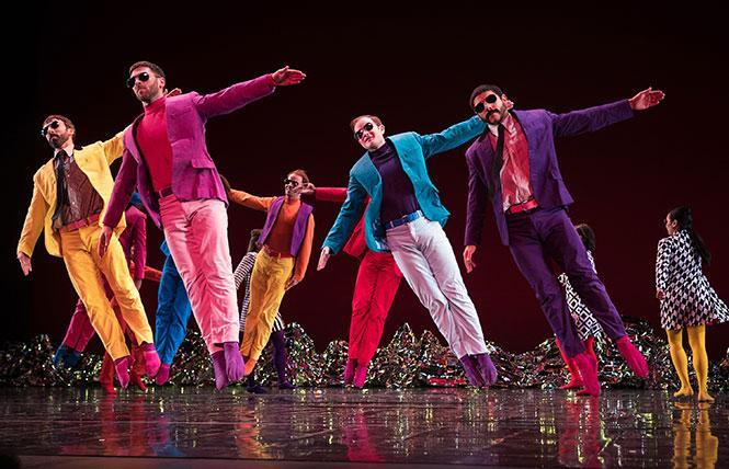 "Mark Morris Dance Group performed ""Pepperland"" in Zellerbach Hall at UC Berkeley. Photo: Mat Hayward"