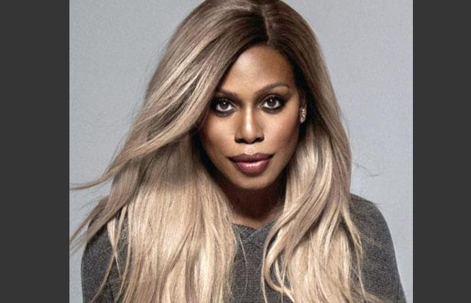 Actress Laverne Cox. Photo: Courtesy TLC