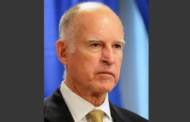 Governor Jerry Brown. Photo: Rick Gerharter