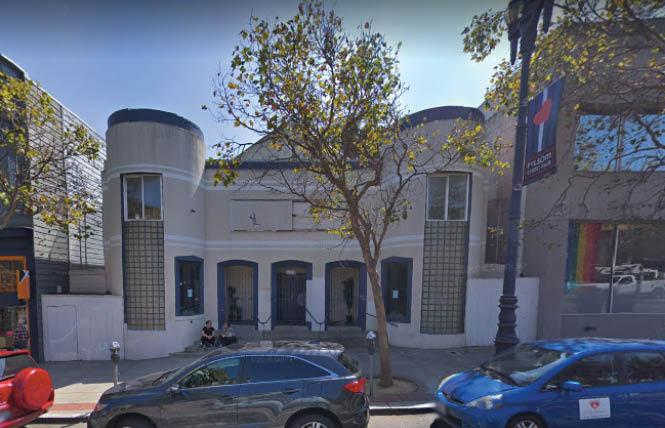 Housing is proposed to replace a former church site on upper Market Street in the Castro district. Photo: Courtesy Google
