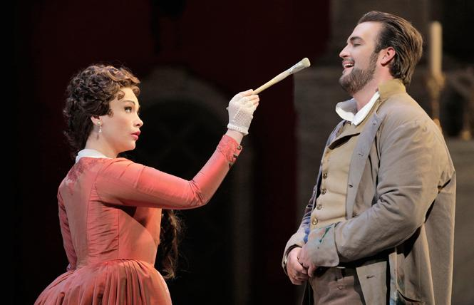 "Carmen Giannattasio is Tosca in San Francisco Opera's production of Puccini's ""Tosca."" Photo: Cory Weaver/San Francisco Opera"