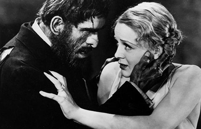 "Boris Karloff and Gloria Stuart in director James Whale's ""The Old Dark House."" Photo: Cohen Film"