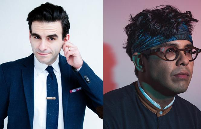 "Joe Iconis and George Salazar of ""Be More Chill"" are coming to San Francisco. Photo: Courtesy the subjects"