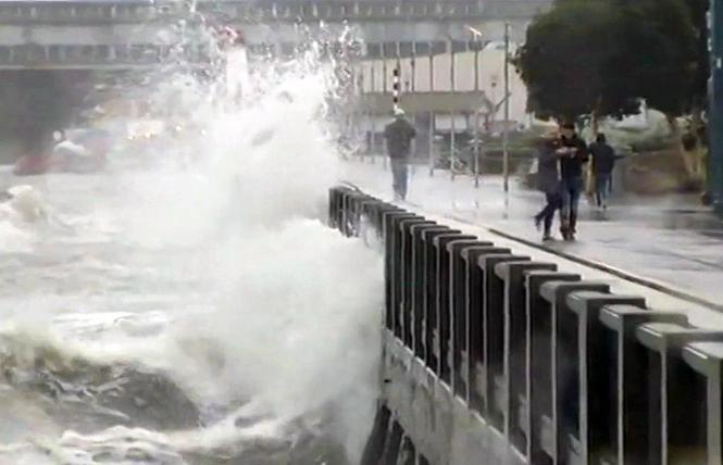 San Francisco Proposition A would allow the city to sell general obligation bonds to repair and upgrade the Embarcadero seawall. Photo: Courtesy ABC7